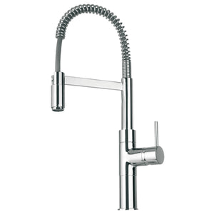 LaToscana Elba single handle kitchen faucet with spring sprout in Chrome - 78CR556