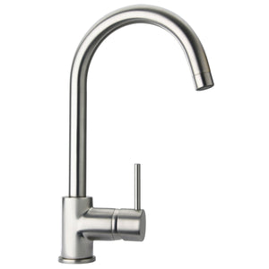 LaToscana Elba single handle pull-down kitchen faucet, stream only in Brushed Nickel - 78PW591