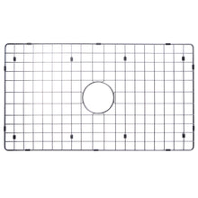 "Load image into Gallery viewer, Water Creation 33"" X 21"" Zero Radius Single Bowl Stainless Steel Hand Made Apron Front Kitchen Sink With Drain, Strainer, Bottom Grid, And Single Hole Faucet CF511-AS-3321A"