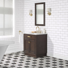 "Load image into Gallery viewer, Water Creation Chestnut 30"" Single Bathroom Vanity CH30D-0614BK"