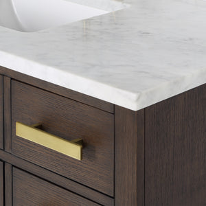 "Water Creation Chestnut 48"" Single Bathroom Vanity CH48B-0600BK"
