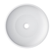 "Load image into Gallery viewer, Cambridge Plumbing - Dolomite Mineral Composite 16"" Round Vessel Sink - ES-RVS16"