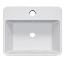"Load image into Gallery viewer, Cambridge Plumbing Dolomite Mineral Composite 21"" Single Recessed Sink ES-SRS21"