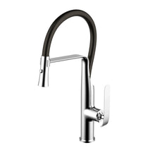 Load image into Gallery viewer, Water Creation Single Hole Pull-Out Kitchen Faucet With Supply Lines In Chrome Finish F5-0011-01