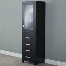 Load image into Gallery viewer, Water Creation Madison Collection Linen Cabinet in Espresso MADISON-LC-E