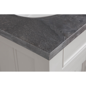 "Water Creation Potenza 24"" Bathroom Vanity in Earl Grey with Blue Limestone Top with Faucet POTENZA24EGF2"