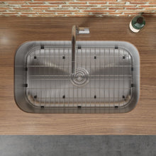"Load image into Gallery viewer, Ruvati 30"" Undermount 16 Gauge Stainless Steel Kitchen Sink Single Bowl - RVM4250"