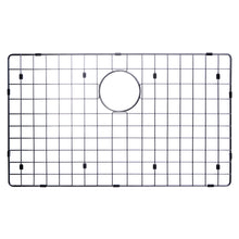 "Load image into Gallery viewer, Water Creation 32"" x 19"" 15mm Corner Radius Single Bowl Stainless Steel Hand Made Undermount Kitchen Sink With Drain, Strainer, And Bottom Grid SSSG-US-3219B-16"