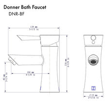 Load image into Gallery viewer, ZLINE Donner Bath Faucet in Chrome (DNR-BF-CH)