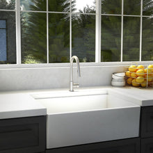 Load image into Gallery viewer, ZLINE Gemini Kitchen Faucet in Brushed Nickel (GEM-KF-BN)