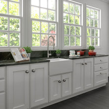 Load image into Gallery viewer, ZLINE Venice Farmhouse Reversible Fireclay Sink in White Matte FRC5120-WM-24