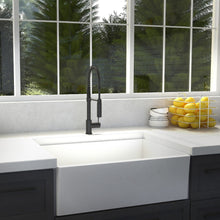 Load image into Gallery viewer, ZLINE Sierra Kitchen Faucet In Matte Black (SRA-KF-MB)