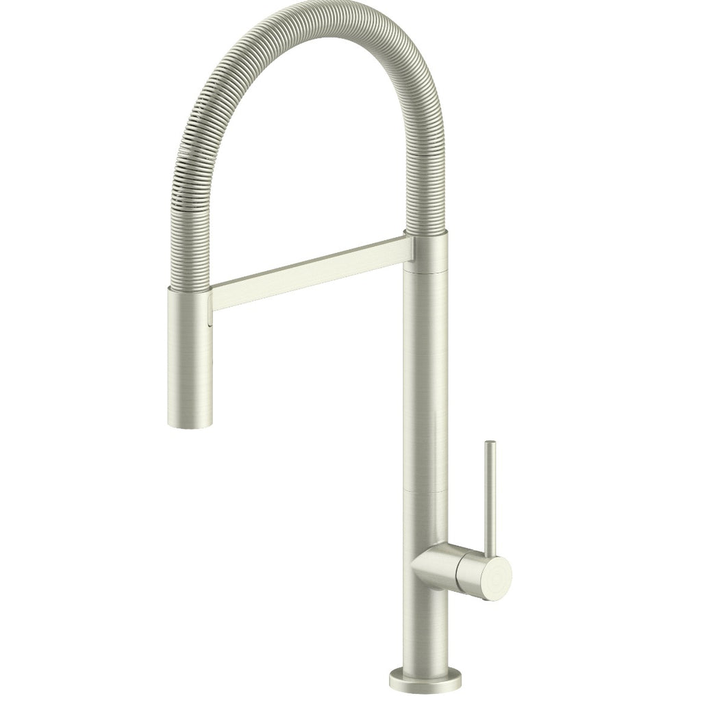 ZLINE Incline Kitchen Faucet in Brushed Nickel (INC-KF-BN)