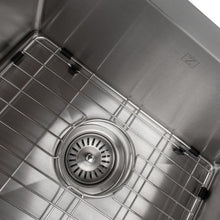 "Load image into Gallery viewer, ZLINE Niseko Farmhouse 36"" Undermount Double Bowl Sink in Stainless Steel (SA50D-36)"