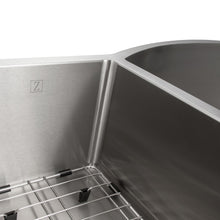 "Load image into Gallery viewer, ZLINE Aspen 33"" Undermount Double Bowl Sink in Stainless Steel SC30D-33"