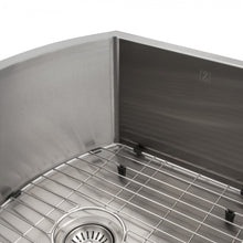"Load image into Gallery viewer, ZLINE Telluride 22"" Undermount Single Bowl Sink in Stainless Steel SCS-22"