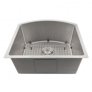 "ZLINE Telluride 22"" Undermount Single Bowl Sink in Stainless Steel SCS-22"