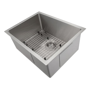 "ZLINE Meribel 23"" Undermount Single Bowl Sink in Stainless Steel SRS-23"