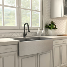 Load image into Gallery viewer, ZLINE Shakespeare Kitchen Faucet in Matte Black (SHK-KF-MB)