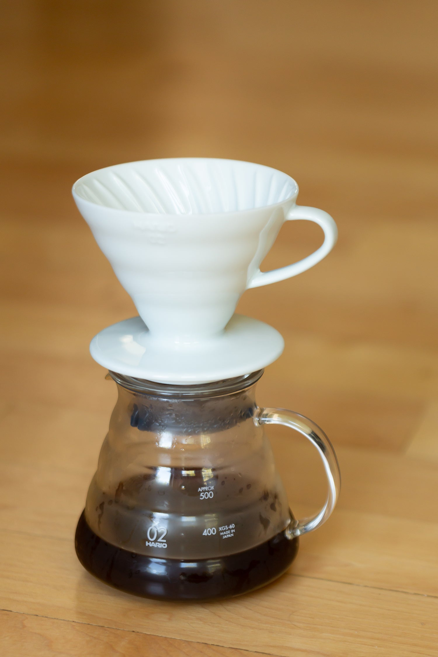 Pour-Over + Coffee Gift Set