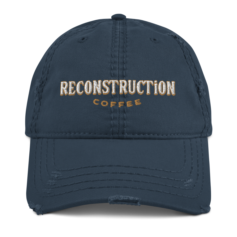 Reconstruction Distressed Hat