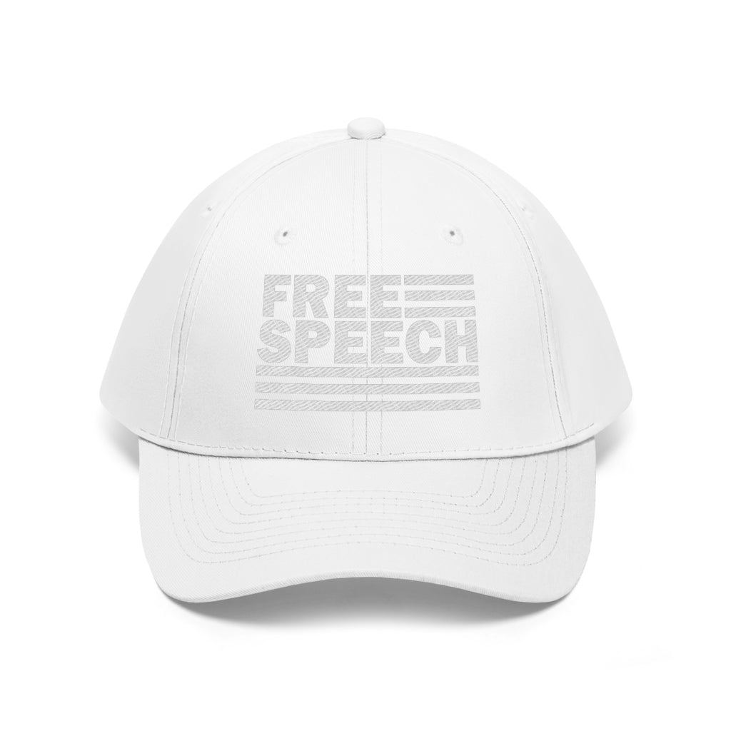 Free Speech Flag Ball Cap