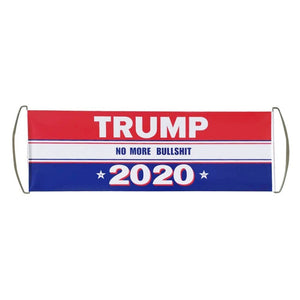 Hand Held Retractable Trump Flag