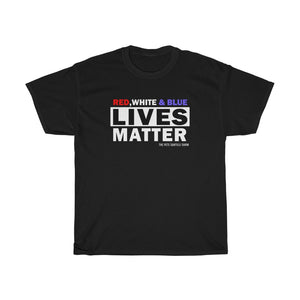 Red, White & Blue Lives Matter | Custom Tee