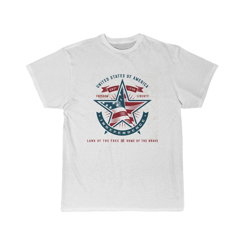 American Independence, Land of the Free | Men's Short Sleeve Tee
