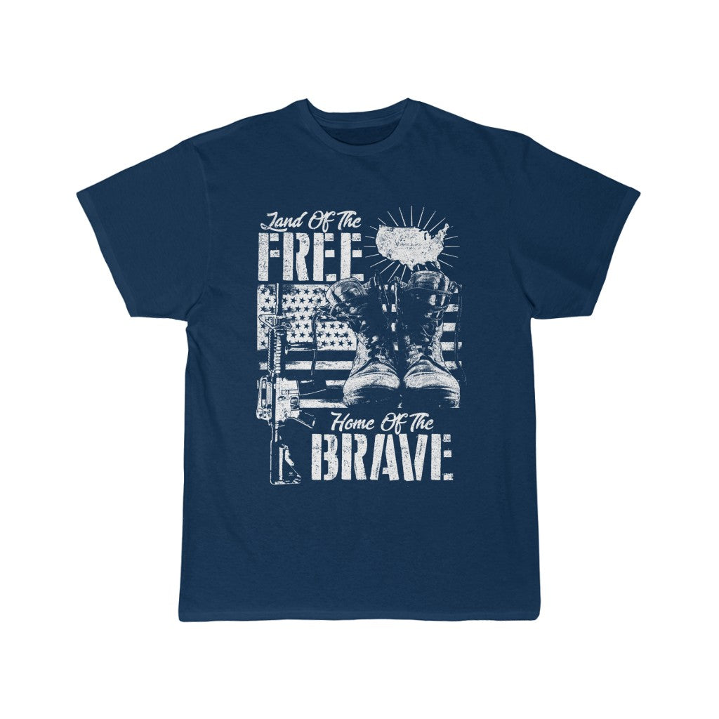Land of the Free, Home of the Brave | Short Sleeve Tee