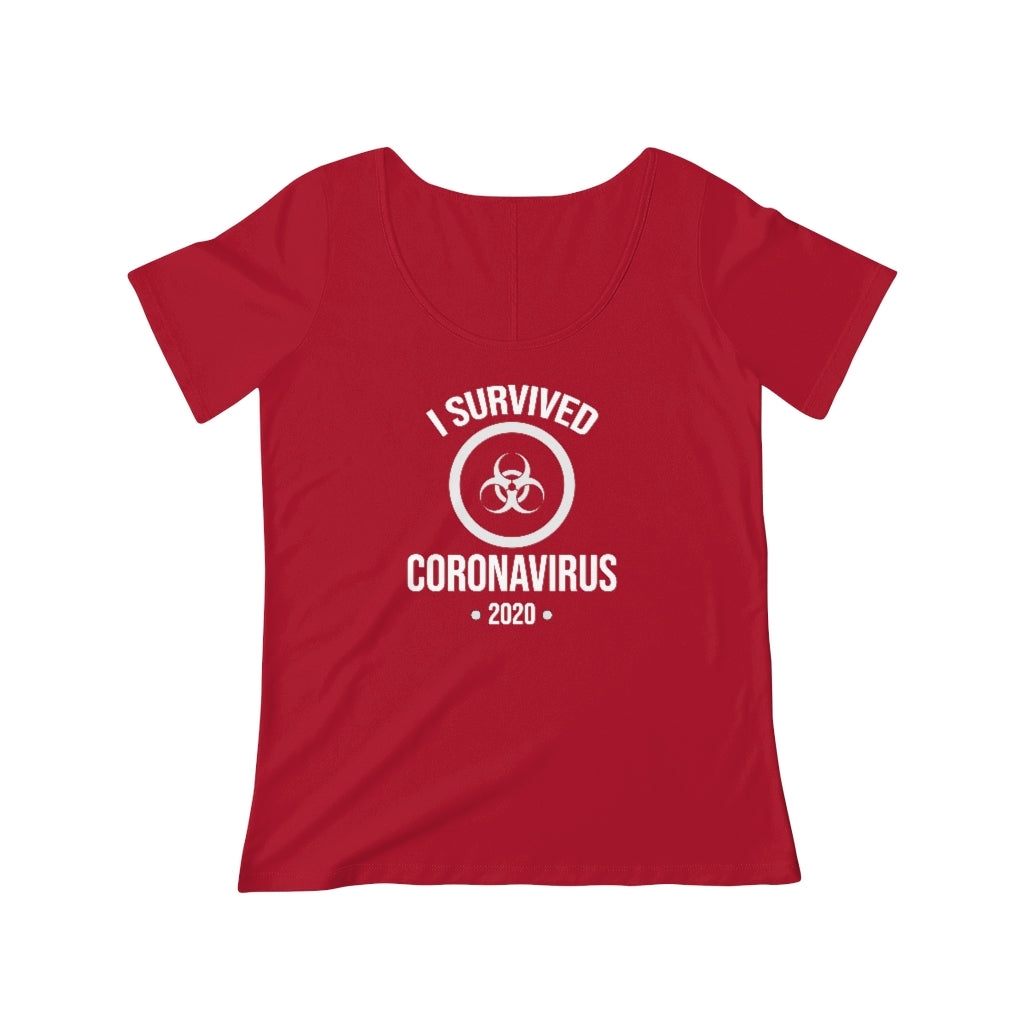 Coronavirus Survivor | Women's Scoop Neck T-shirt