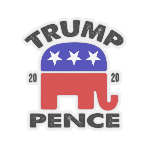 Trump Pence 2020 Kiss-Cut Stickers