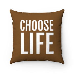Choose Life / Always A Gift | 2-Sided Polyester Pillow