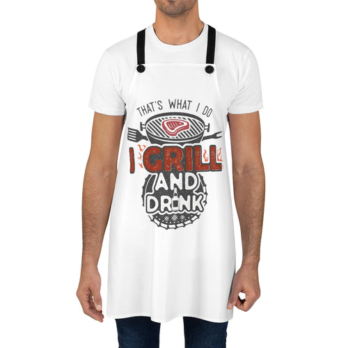 I Grill and I Drink | Apron