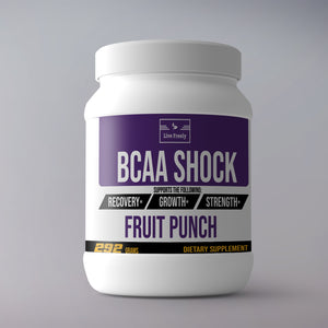 BCAA Shock Powder (Fruit Punch) – 325 Grams