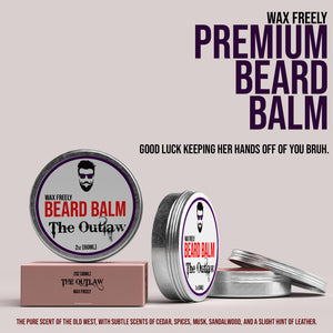 The Outlaw Beard Balm – 2oz