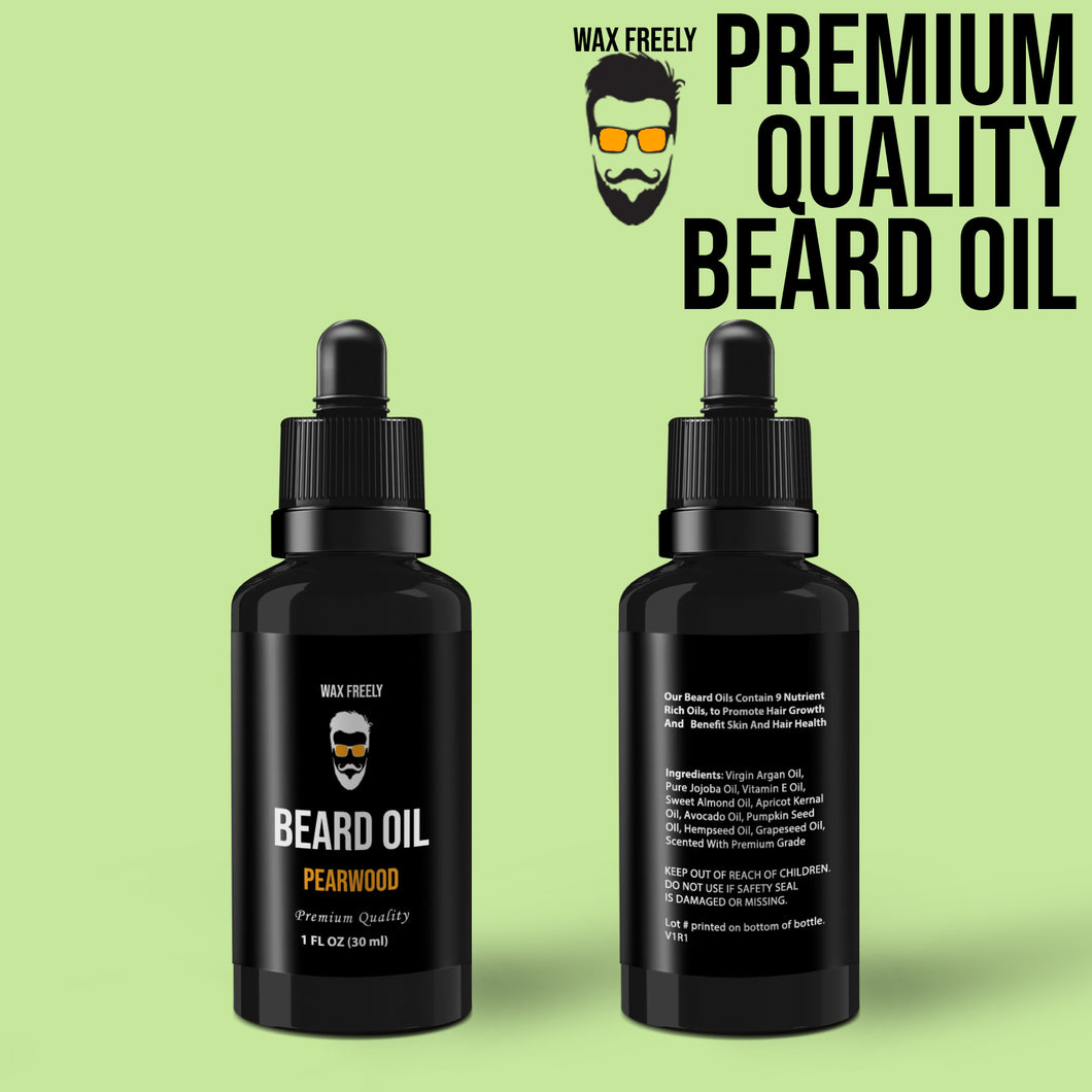 Pearwood Beard Oil – 1oz
