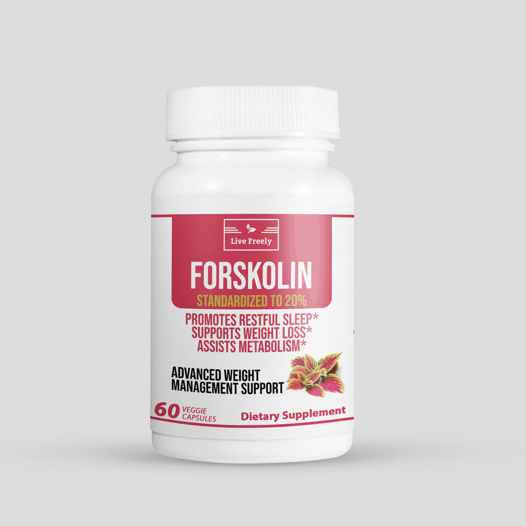 Forskolin 250 mg (20%) – 60 Caps