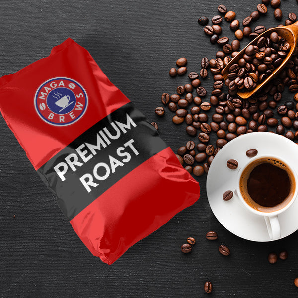 MAGA Brew Premium Roast Coffee (12 oz)