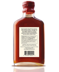 Pumpkin Spice Maple Craft Syrup (Organic)