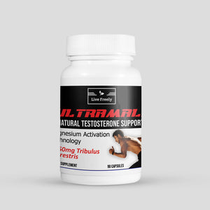 UltraMale Natural Testosterone Support – 90 Caps