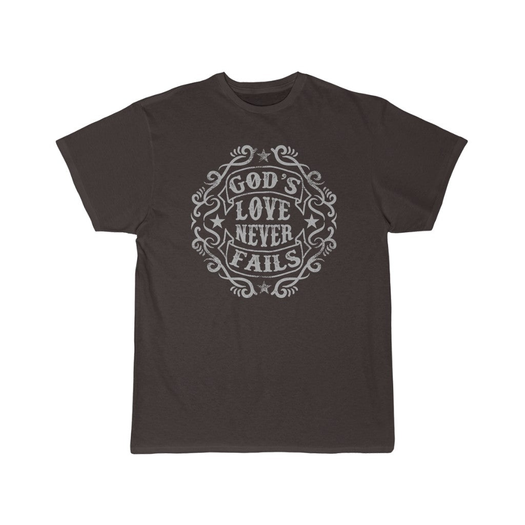 God's Love Never Fails | Short Sleeve Tee