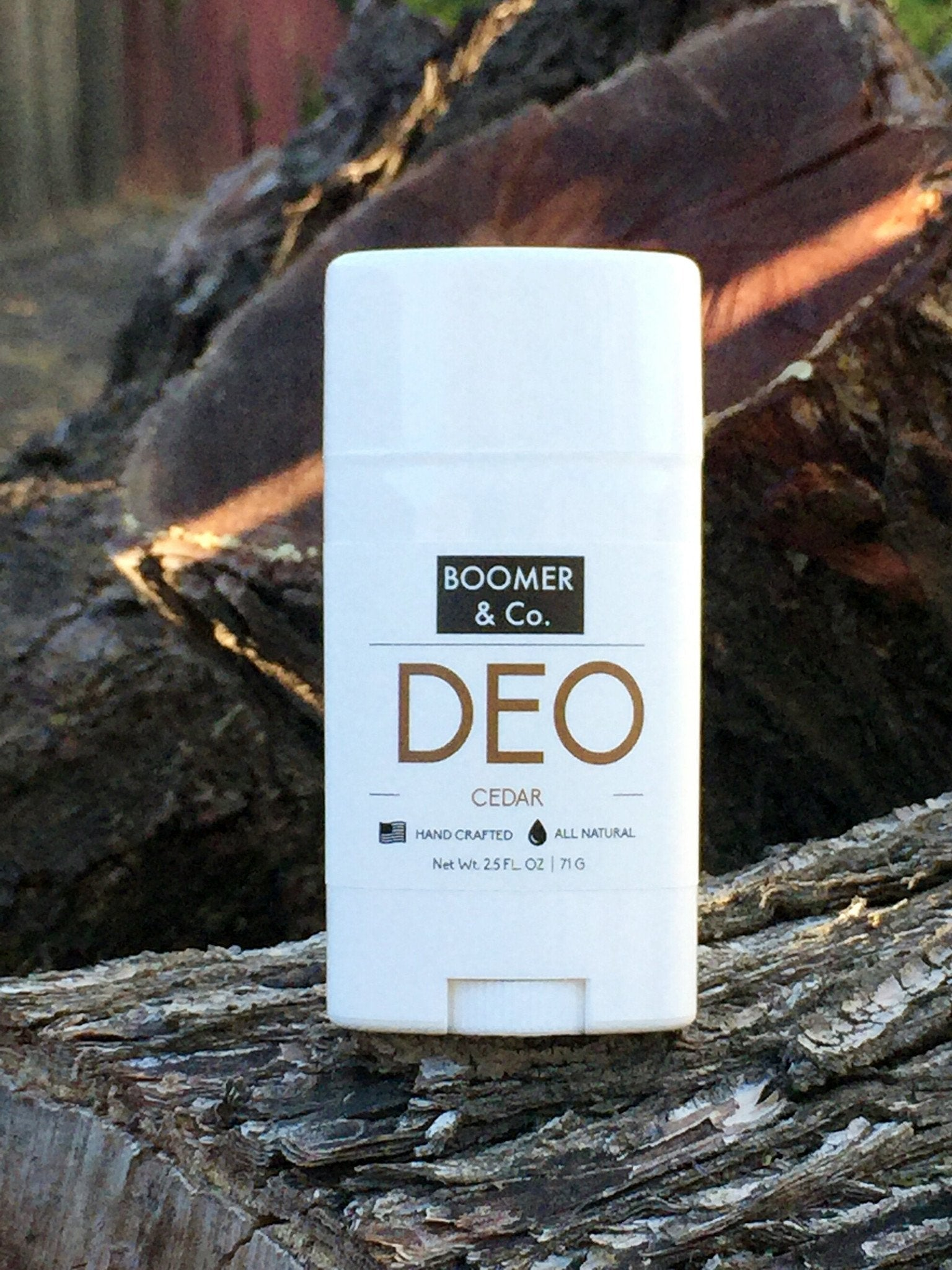 Cedar Deodorant All Natural Hand Crafted