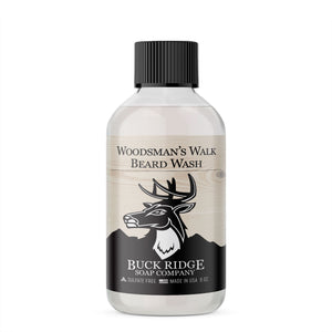 Buck Ridge Woodsman's Walk Beard Wash