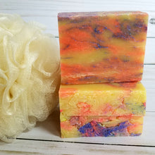 Load image into Gallery viewer, Green Tea and Lemon Fusion Handmade Soap