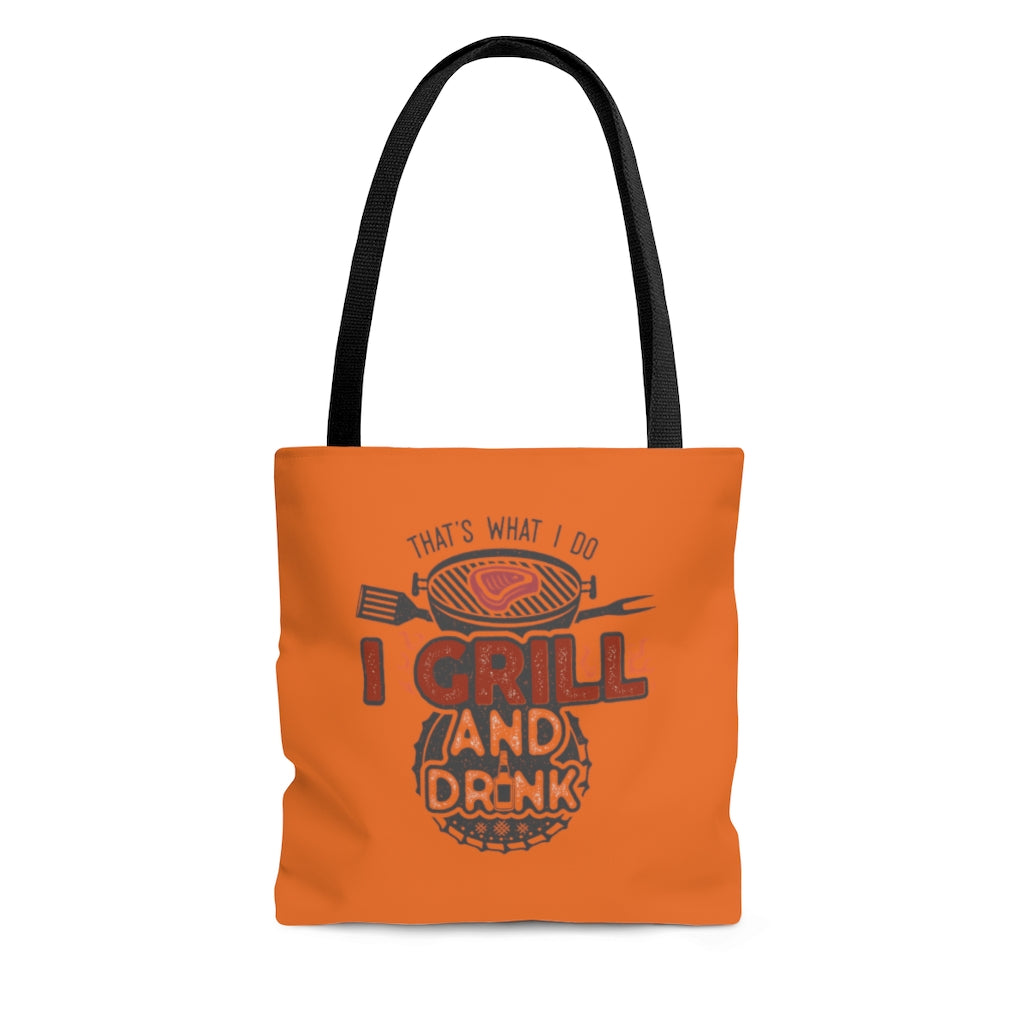 I Grill & I Drink | Tote Bag