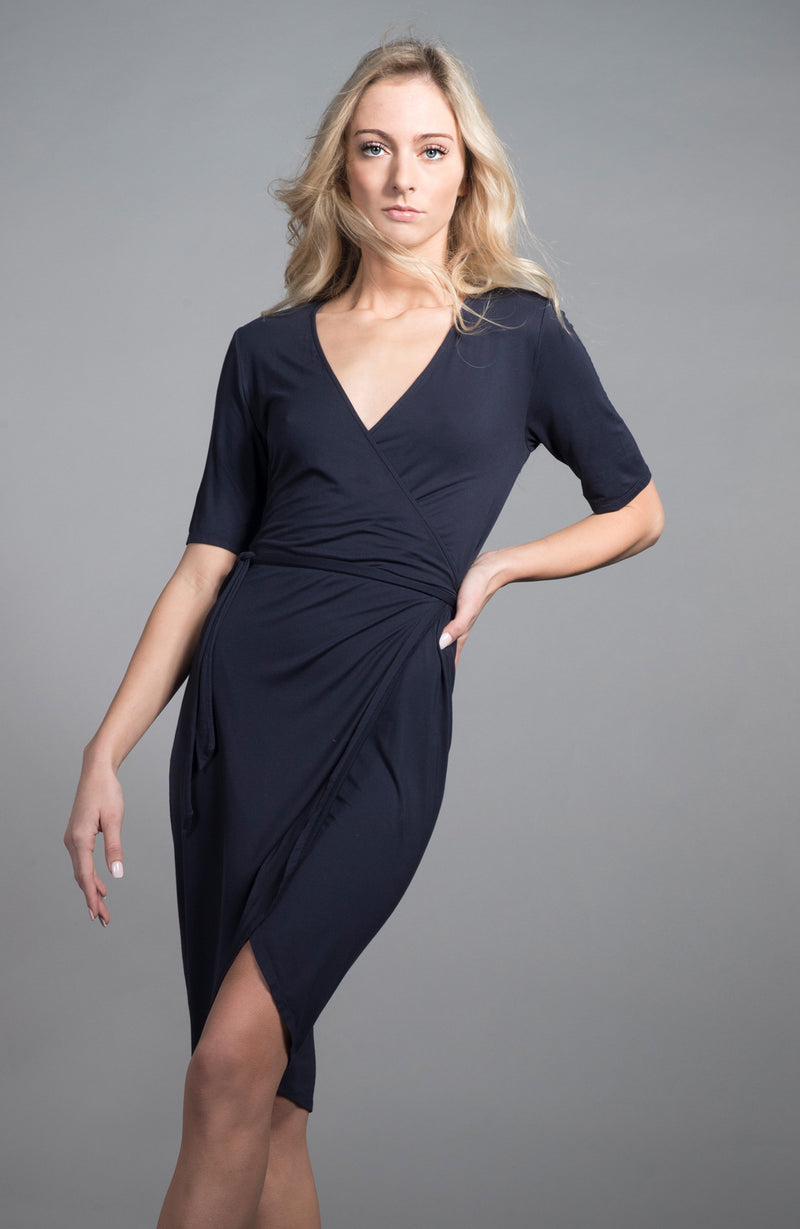 Wrap Dress | Limited Edition Preorder Price | The Biodegradable Collection
