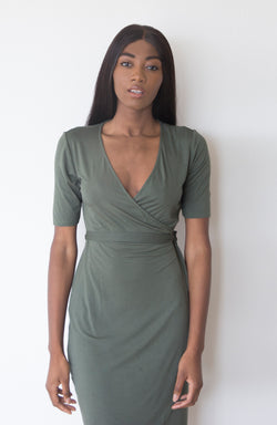 Wrap Dress | The Biodegradable Collection | Sold Out