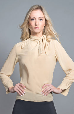 Vegetable Dyed Silk Blouse | The Compostable Collection | Sold Out