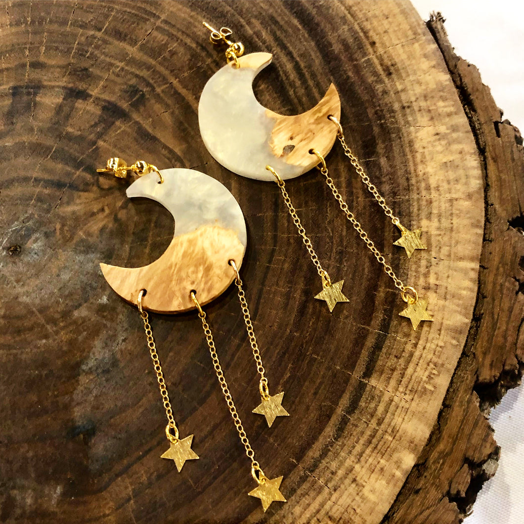 Hang the Moon Earrings